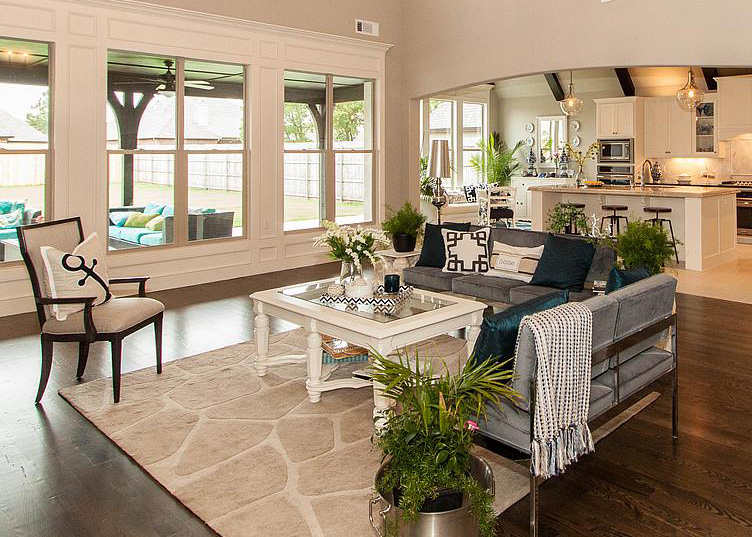 Living Rooms - Southern Homes | Award Winning Tulsa Custom Home Builder